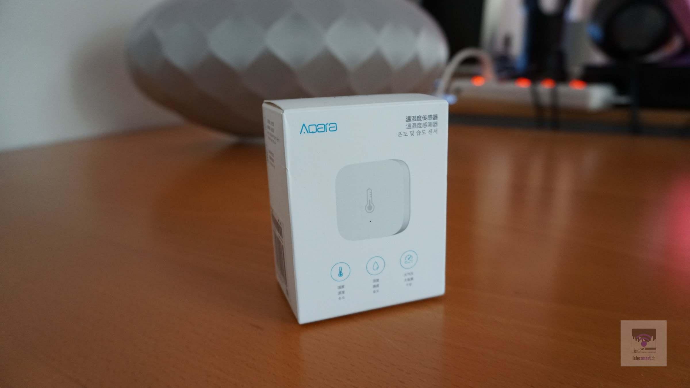 Aqara Temperatur-, Luftdruck und Luftfeuchtigkeitssensor