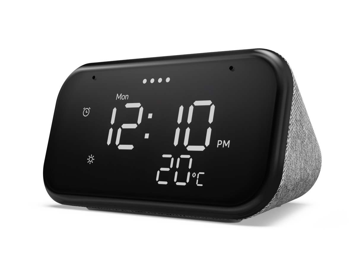 Lenovo Smart Clock Essential – Wecker mit Google Assistant