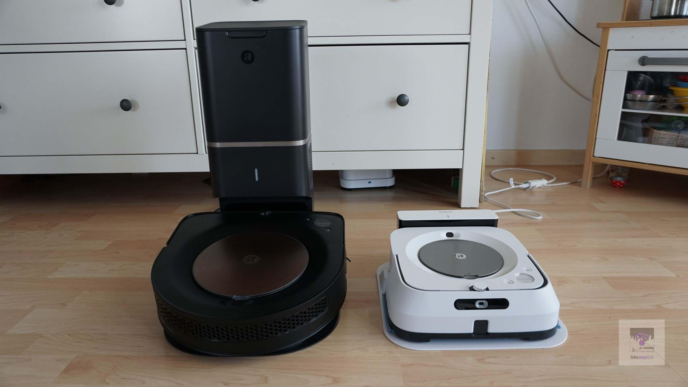Ankündigung – iRobot Roomba s9+ und Braava Jet M6 im Test