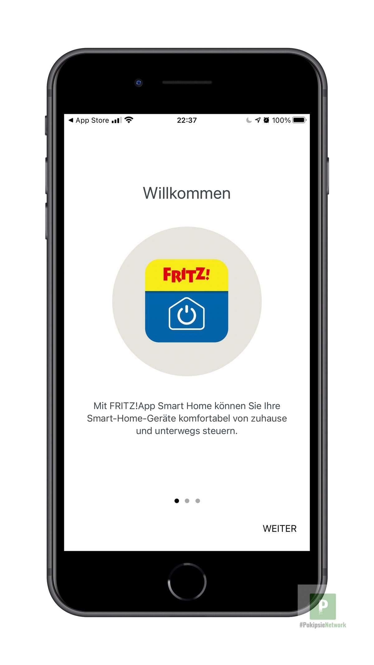 Willkommen bei FRITZ!App Smart Home