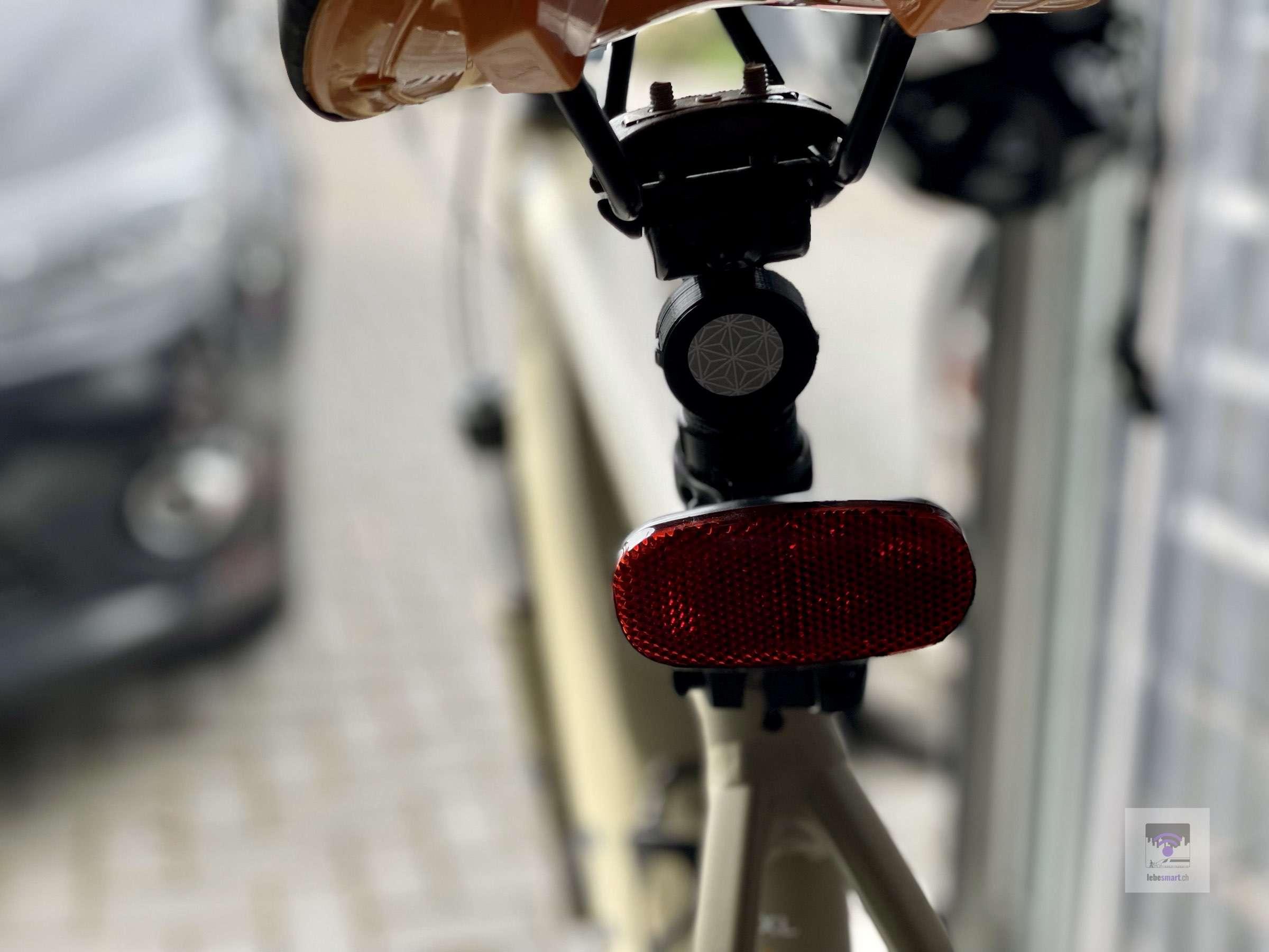 Direkt am E-Bike / Fahrrand montiert