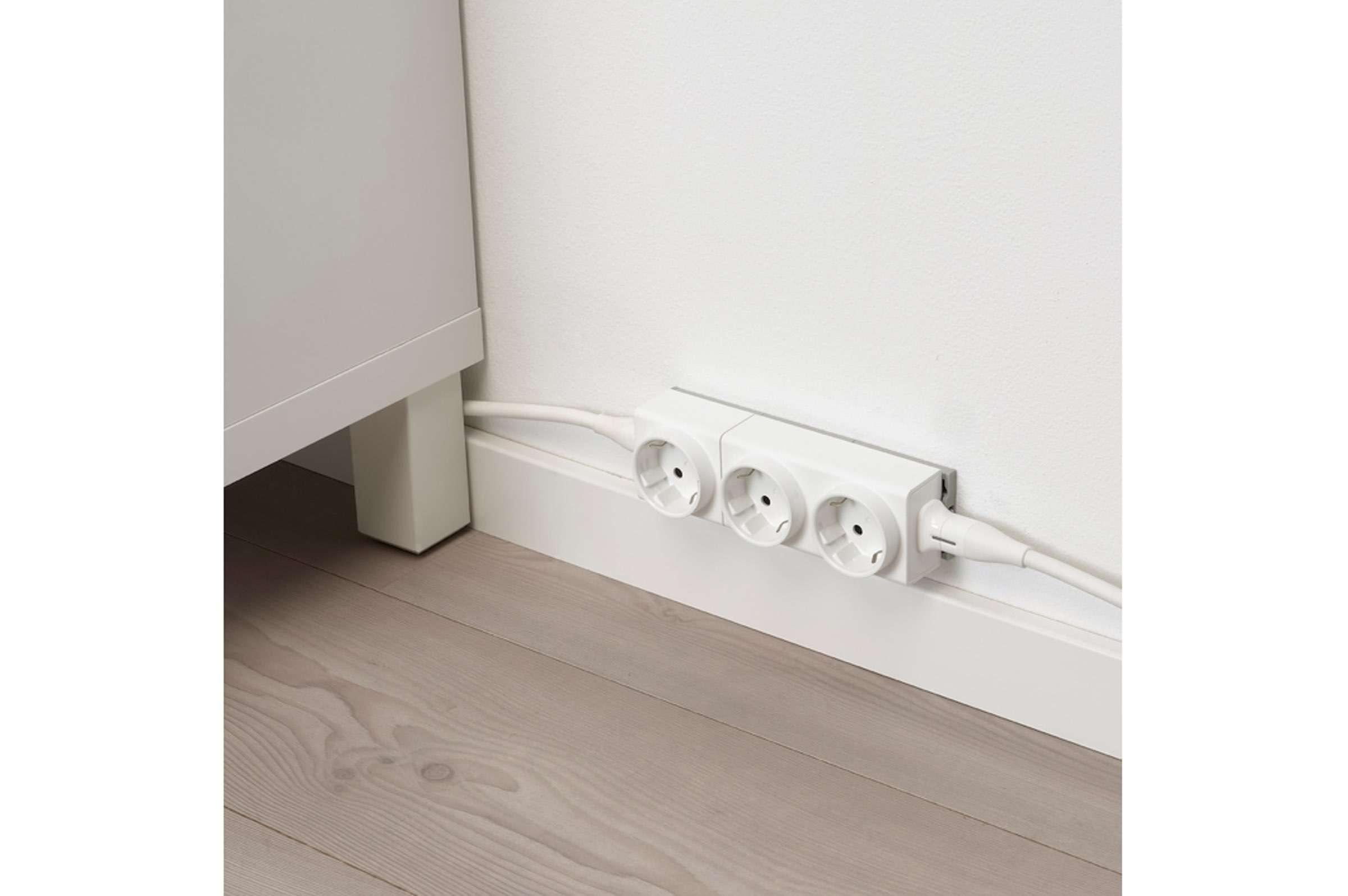 IKEA Åskväder – Mehrfachsteckdose modular erweitern