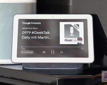 Podcasts hören am Google Nest Hub – Die Sprachbefehle